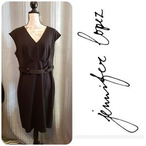 Jennifer Lopez Black Dress Size 16